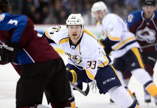 Colorado Avalanche vs. Nashville Predators - 12/9/14 NHL Pick, Odds, and Prediction