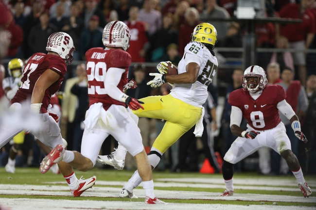 Stanford at Oregon - 11/1/14 College Football Pick, Odds, and Prediction