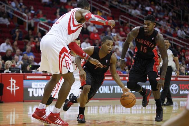Toronto Raptors vs. Houston Rockets - 4/2/14