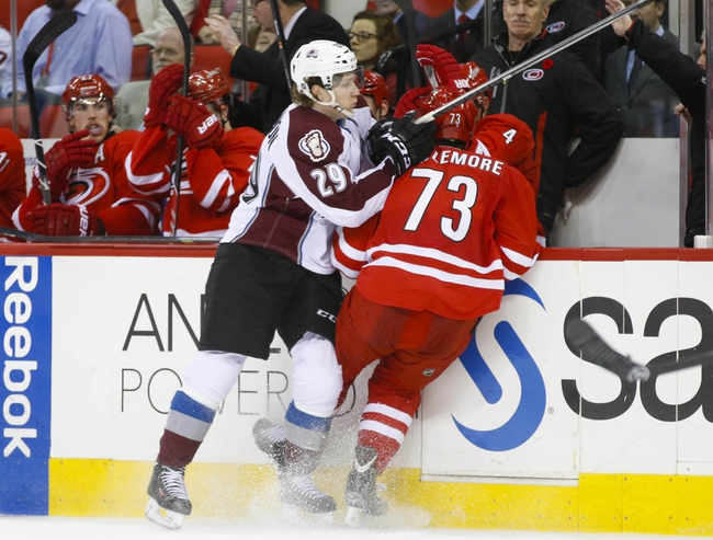 Carolina Hurricanes vs. Colorado Avalanche - 1/13/15 NHL Pick, Odds, and Prediction
