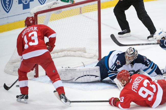 Jets vs. Red Wings - 11/20/14 NHL Pick, Odds, and Prediction