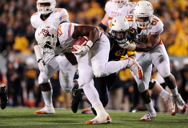 BYU Cougars vs. Texas Longhorns Pick-Odds-Prediction - 9/6/14