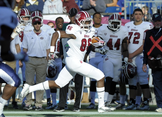 Massachusetts Minutemen vs. Boston College Eagles Pick-Odds-Prediction - 8/30/14