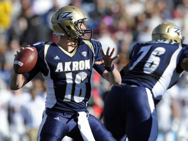 Akron Zips vs. Eastern Michigan Eagles Pick-Odds-Prediction - 10/4/14