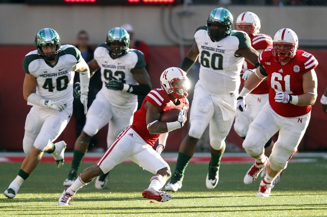 Michigan State Spartans vs. Nebraska Cornhuskers CFB Pick, Odds, Prediction - 10/4/14