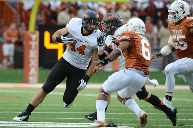 Oklahoma State vs. Texas - 11/15/14 College Football Pick, Odds, and Prediction