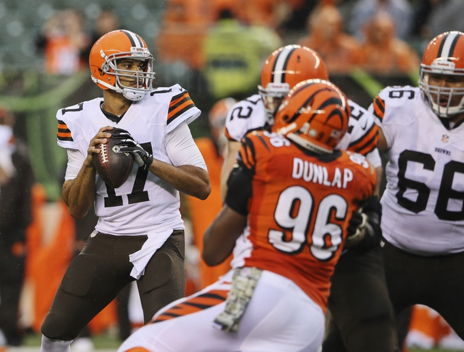 Cincinnati Bengals vs. Cleveland Browns - 11/6/14 NFL Pick, Odds, and Prediction