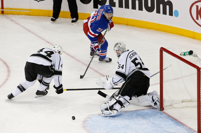 New York Rangers at Los Angeles Kings Pick-Odds-Prediction - 6/4/14