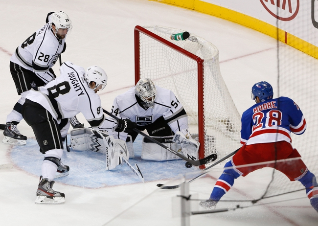 Los Angeles Kings vs. New York Rangers NHL Finals Prediction, Odds, Pick - 6/4/14 Game One