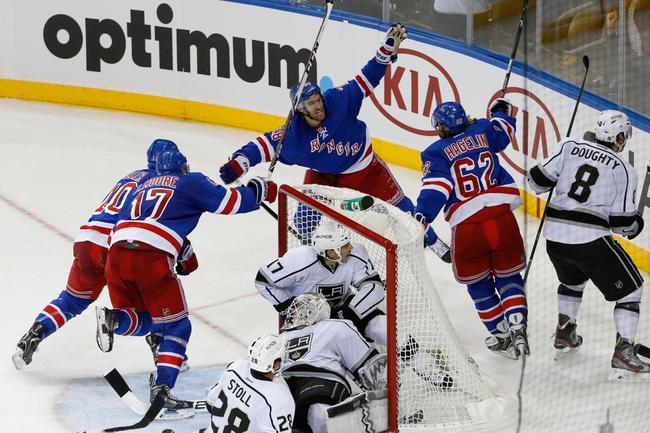 Los Angeles Kings vs. New York Rangers - 6/4/14