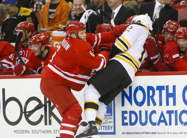 Hurricanes vs. Bruins - 1/4/15 NHL Pick, Odds, and Prediction