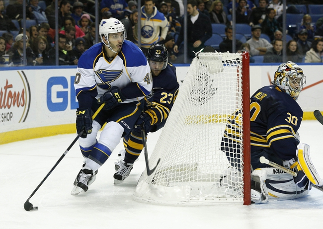 St. Louis Blues vs. Buffalo Sabres Pick-Odds-Prediction - 4/3/14