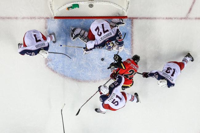 Columbus Blue Jackets vs. Calgary Flames - 10/17/14 NHL Pick, Odds, Prediction