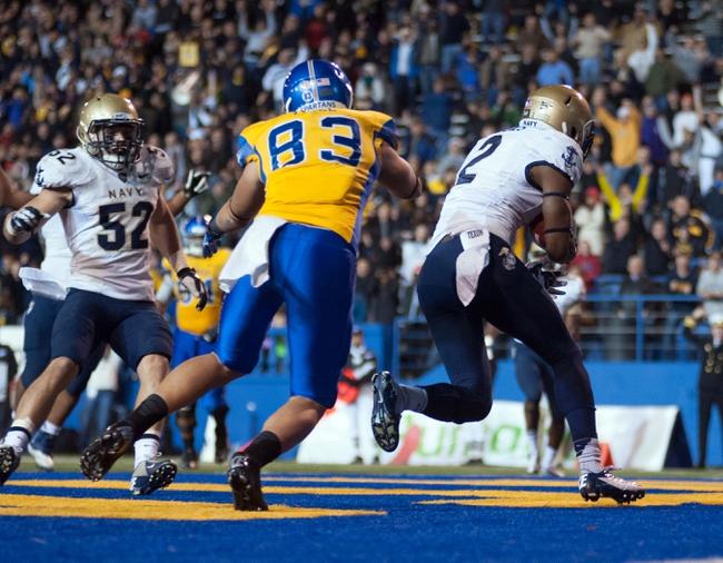 Navy Midshipmen vs. San Jose State Spartans Pick-Odds-Prediction - 10/25/14