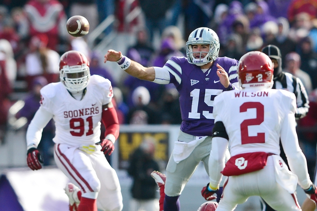 Oklahoma Sooners vs. Kansas State Wildcats - 10/18/14 CFB Pick, Odds, Prediction