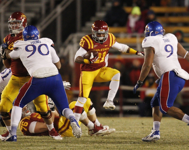Kansas vs. Iowa State - 11/8/14 College Football Pick, Odds, and Prediction