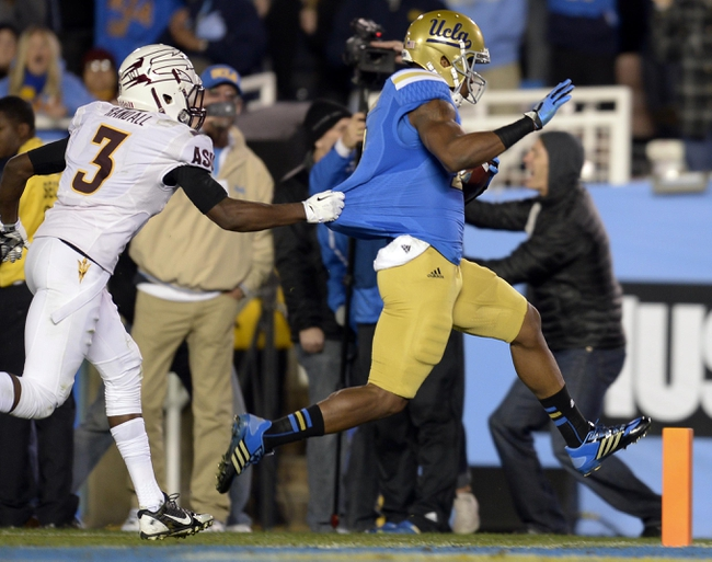 UCLA Bruins at Arizona State Sun Devils CFB Pick, Odds, Prediction - 9/25/14