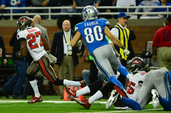 Lions vs. Buccaneers - 12/7/14 NFL Pick, Odds, and Prediction
