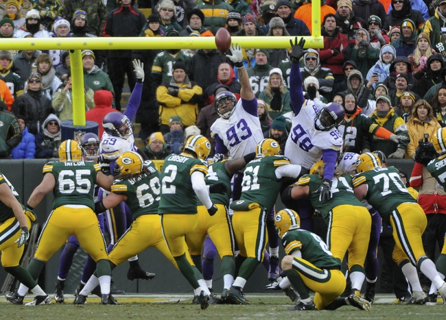 Minnesota Vikings at Green Bay Packers - 10/2/14
