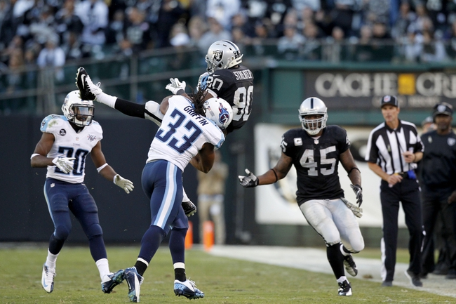 Tennessee Titans vs. Oakland Raiders - 11/29/15 NFL Pick, Odds, and Prediction