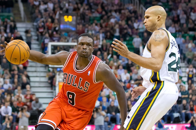 Jazz vs. Bulls - 11/24/14 NBA Pick, Odds, and Prediction