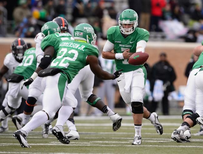 UAB Blazers vs. North Texas Mean Green Pick-Odds-Prediction - 10/11/14