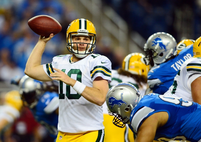 Detroit Lions vs. Green Bay Packers Free Pick, Odds, Prediction 9/21/14