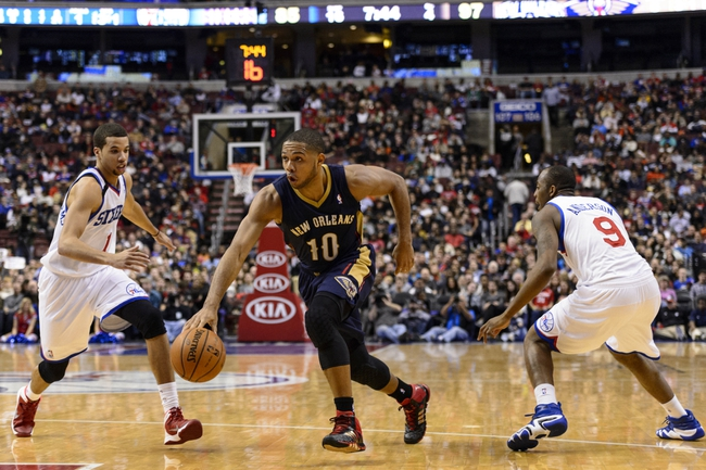 76ers vs. Pelicans - 1/16/15 NBA Pick, Odds, and Prediction