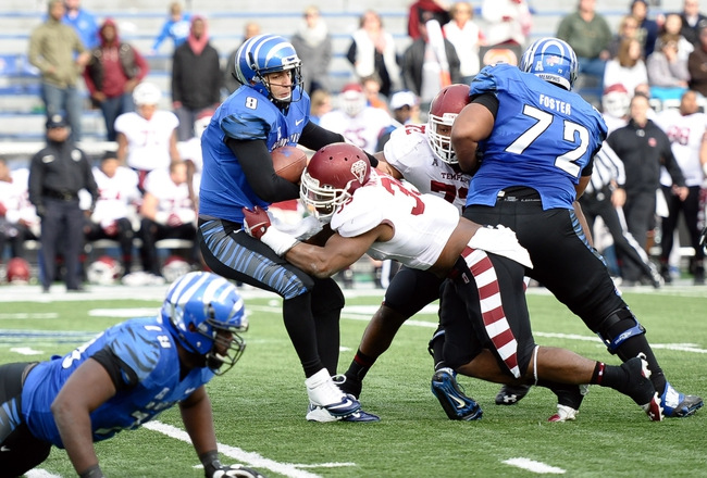 Memphis at Temple - 11/7/14 College Football Pick, Odds, and Prediction