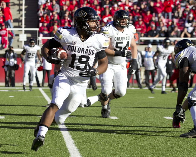 Colorado State Rams vs.Colorado Buffaloes Pick-Odds-Prediction - 8/29/14