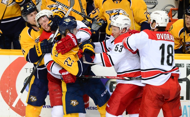 Hurricanes vs. Predators - 12/2/14 NHL Pick, Odds, and Prediction