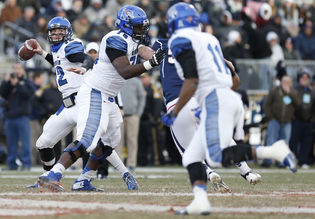 Memphis Tigers vs. Middle Tennessee Blue Raiders Pick-Odds-Prediction - 9/20/14