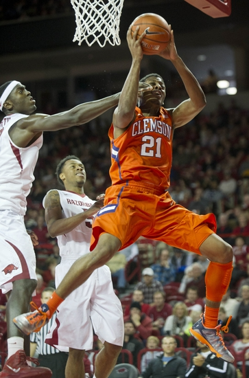 Clemson vs. Arkansas - 12/7/14 College Basketball Pick, Odds, and Prediction