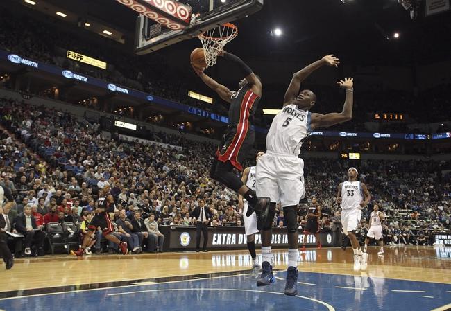 Miami Heat vs. Minnesota Timberwolves - 4/4/14