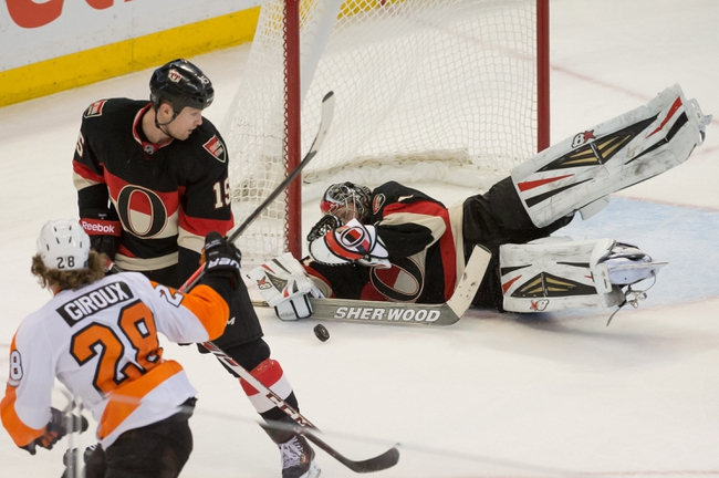 Flyers vs. Senators - 1/6/15 NHL Pick, Odds, and Prediction