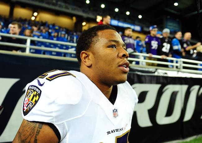 Ray Rice Suspended: Where Do You Draft The Baltimore Ravens Running Back?