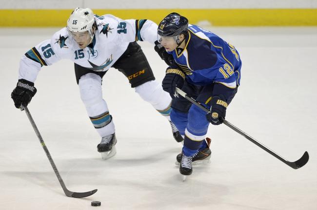 San Jose Sharks vs. St. Louis Blues - 12/20/14 NHL Pick, Odds, and Prediction