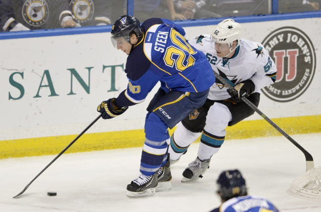 Sharks vs. Blues - 1/3/15 NHL Pick, Odds, and Prediction
