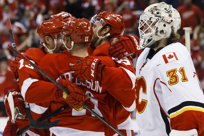 Flames vs. Red Wings - 1/7/15 NHL Pick, Odds, and Prediction