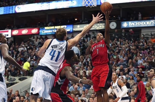 Toronto Raptors vs. Dallas Mavericks - 11/28/14 NBA Pick, Odds, and Prediction