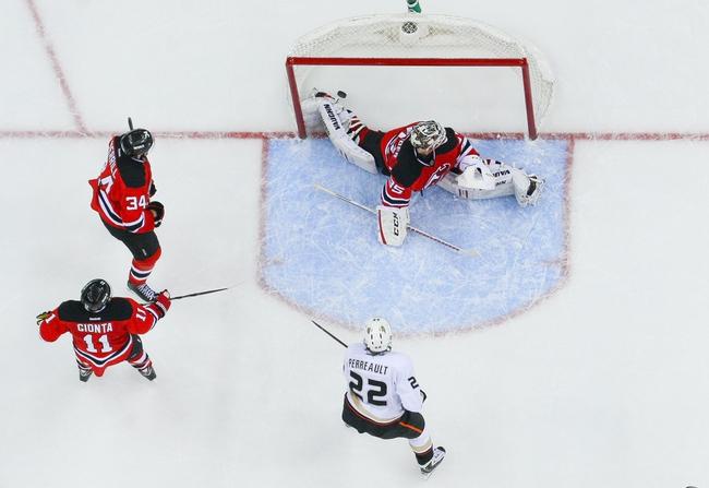 Ducks vs. Devils - 1/16/15 NHL Pick, Odds, and Prediction