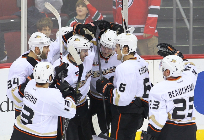 New Jersey Devils vs. Anaheim Ducks - 3/29/15 NHL Pick, Odds, and Prediction