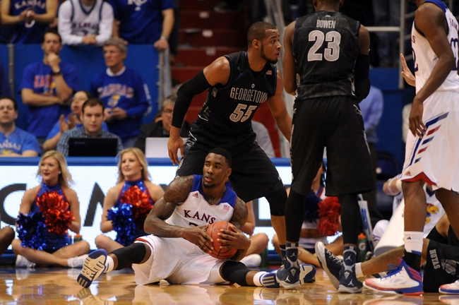 Georgetown vs. Kansas - 12/10/14 College Basketball Pick, Odds, and Prediction