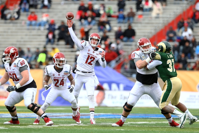WSU Cougars at Nevada Wolf Pack 9/5/14 College Football Pick, Odds, Prediction