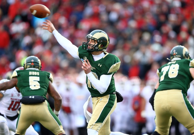Colorado Buffaloes vs. Colorado State Rams 8/29/14 Free CFB Pick