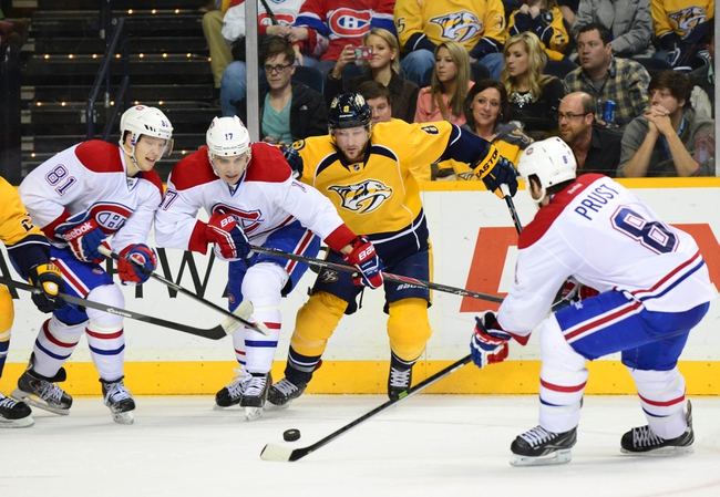 Nashville Predators vs. Montreal Canadiens - 3/24/15 NHL Pick, Odds, and Prediction