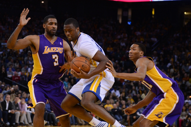 Los Angeles Lakers vs. Golden State Warriors - 4/11/14