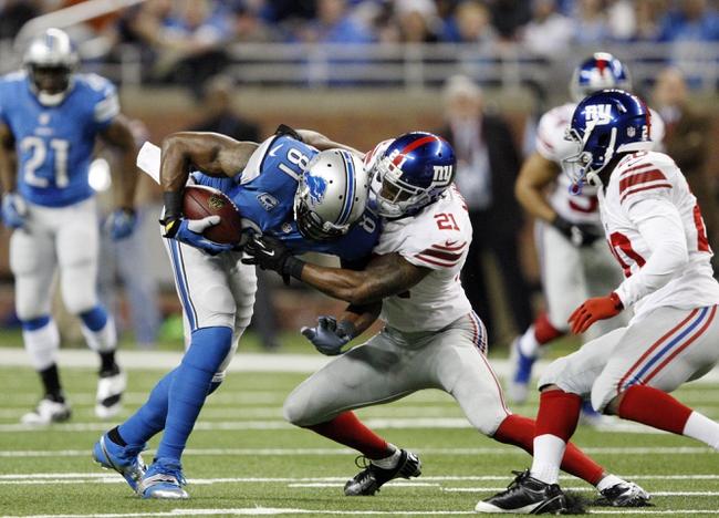 Detroit Lions vs. New York Giants 9/8/14 NFL Pick, Odds, Prediction