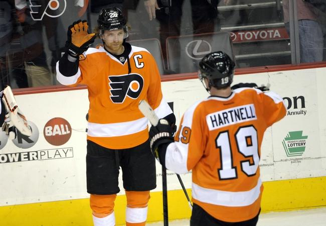 Philadelphia Flyers vs. Minnesota Wild - 11/20/14 NHL Pick, Odds, and Prediction