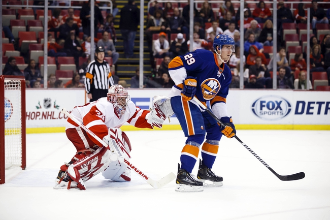 Detroit Red Wings vs. New York Islanders - 12/19/14 NHL Pick, Odds, and Prediction